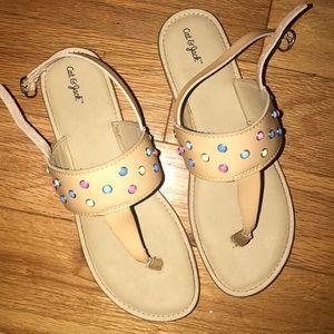 Cat & Jack summer girls sandal